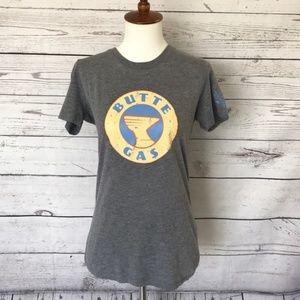 DISNEY PARKS Grey Butte Gas SS T-Shirt Size Medium